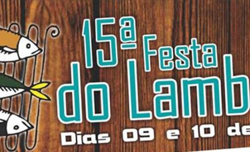 Vem ai a 15ª Festa do Lambari de Porto Vitória