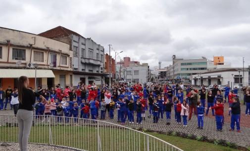 Dia do Desafio: Porto União vence o sedentarismo