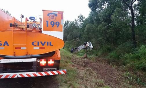 Em uma hora dois acidentes na BR 153