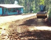 Estradas da comunidade do Agudo recebem melhorias