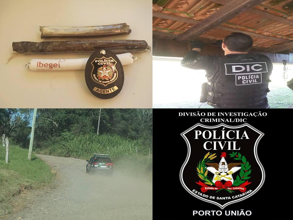 Foto: Polícia Civil de Porto União