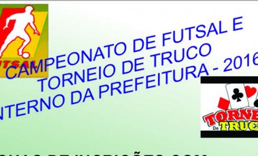 Secretaria de Esportes convida servidores para Campeonato