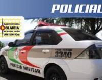 Assaltantes levam dois veículos em festa no interior
