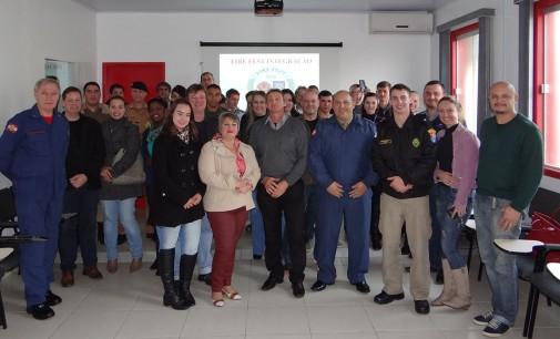 Comemoração ao Dia do Bombeiro em Porto União
