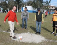 Prefeito Anízio dá ponta pé inicial no Campeonato