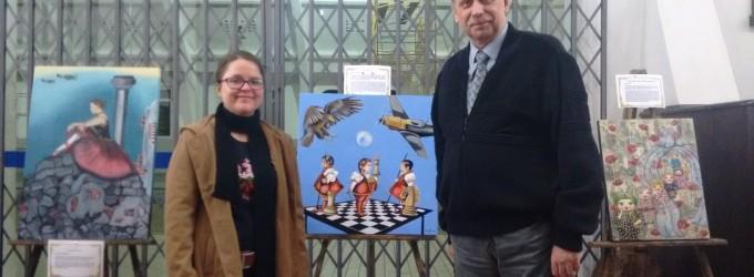 Cônsul Polonês abre exposição nas cidades gêmeas