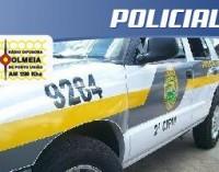 Motorista é detido por pose de drogas e munições