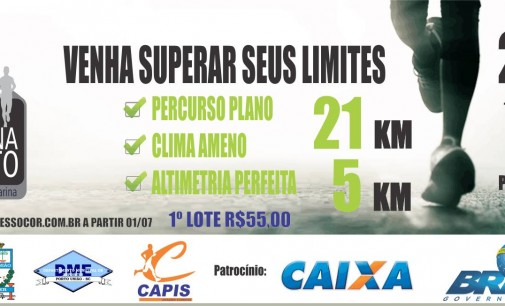 1/2 Maratona de Porto União será domingo dia 11
