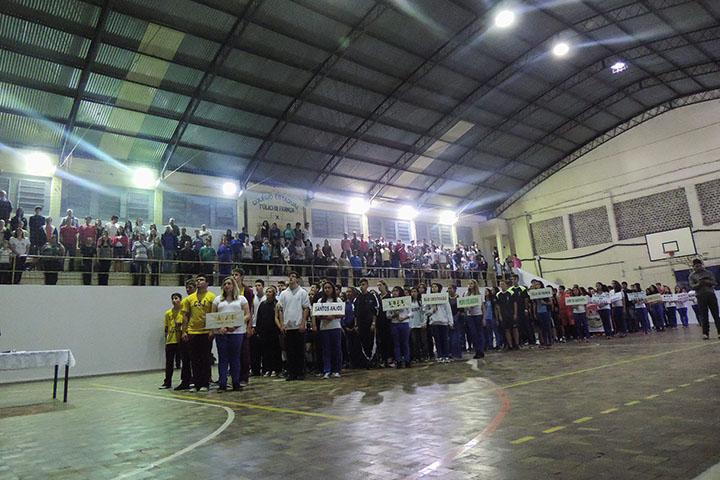Abertura dos Jogos da Primavera de 2015 Foto: Marciel Borges/ Rádio Colmeia