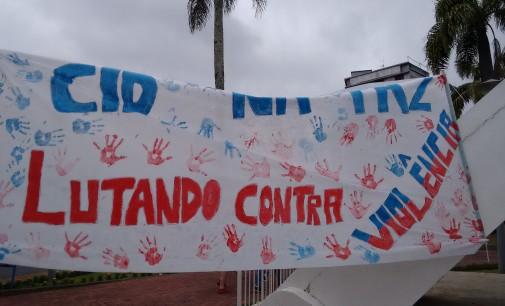 CID Gonzaga faz ação pela paz em Porto União