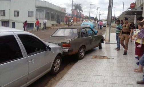 Homem provoca acidente de trânsito em General Carneiro