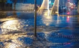 Chuva trás transtornos nas cidades gêmeas
