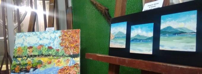 """Exposição """"Águas"""" é aberta na Secretaria de Cultura de PU"""