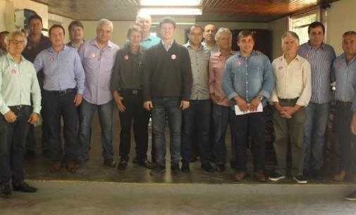 Santin promove reunião com prefeitos eleitos da Amsulpar