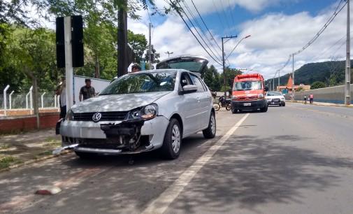 Acidente é registrado na BR 280 em Porto União