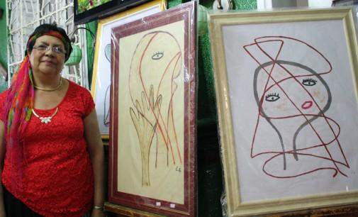 """Eunice Cardoso abre a exposição """"Caminhos de Luz"""""""