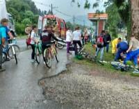 Ciclista fica ferido em acidente em Porto União