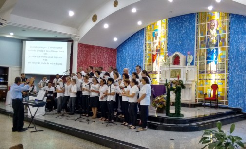 Hoje tem cantata de Natal no bairro São Pedro