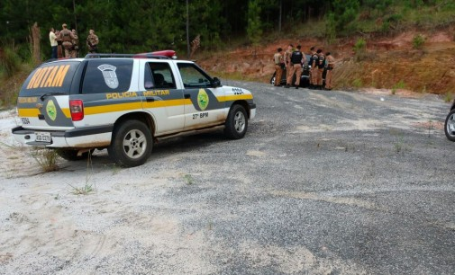PM do PR localiza veículo usado em explosão em P.U