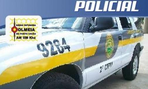 Indivíduo tenta agredir policiais em Porto Vitória