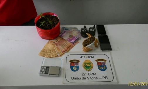 Irmãos são detidos por tráfico de drogas