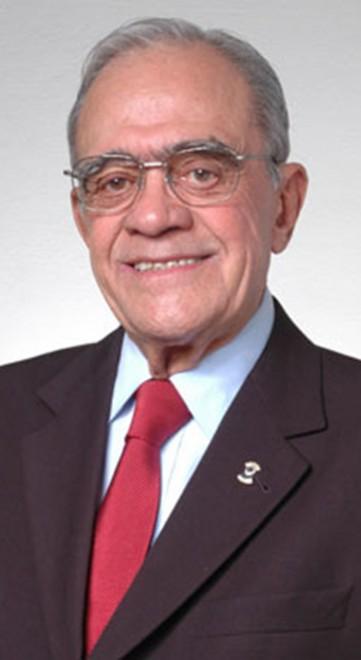 Imagem do ex-presidente Internacional do Lions Professor João Fernando Sobral Foto: Lions