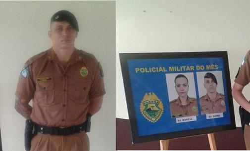 PM realiza solenidade Policial Destaque do Mês