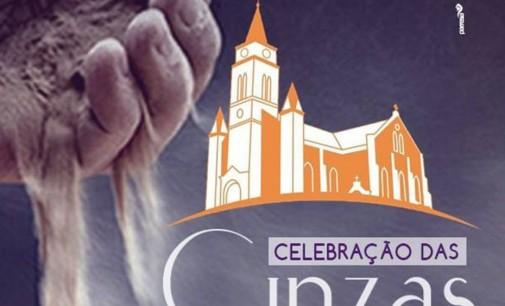 Agenda: Quarta-feira de cinzas com várias missas