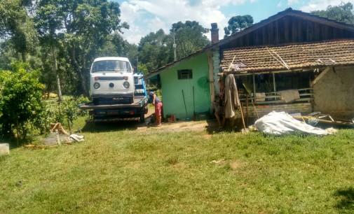 Polícia Militar de São Mates do Sul recupera Kombi
