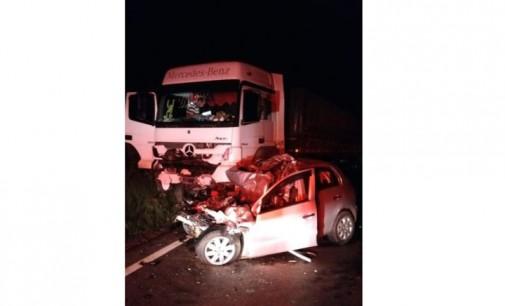 Acidente na BR 153 deixa seis mortos