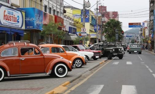Automóvel: As relíquias estão na avenida da cidade