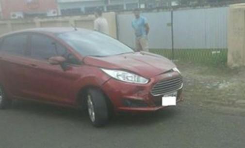 Motorista fica ferido em acidente em União da Vitória