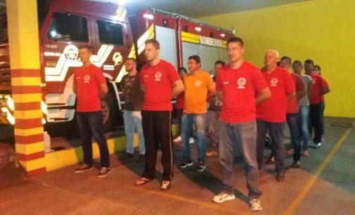 Corpo de Bombeiros de PU dá inicio a turma do CAAE