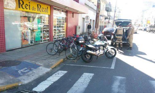 Homem é preso por furtos no centro das cidades irmãs