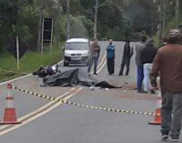 Ciclista morre atropelada na PR 466 em União da Vitória