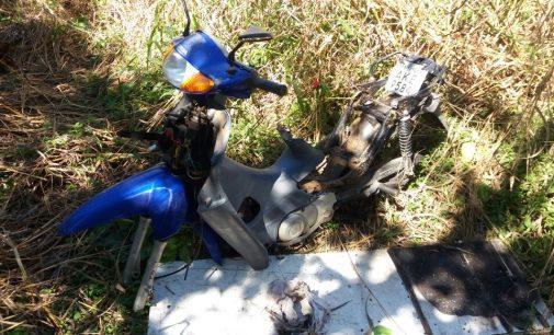 PM de Porto União recupera moto furtada em Bituruna