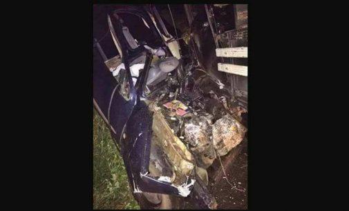 Dionatan Paulo Schimitt perde a vida em acidente de trânsito
