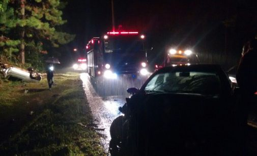 Motorista fica gravemente ferido em acidente na PR 447