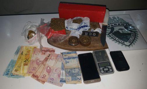 Traficante é preso em Cruz Machado