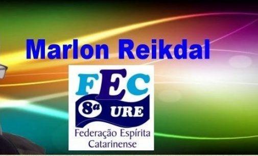 8ª URE realiza seminário espírita e traz palestrante Marlon Reikdal