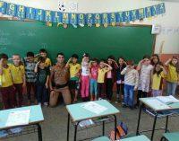 Polícia Militar de Bituruna realiza sonho de duas crianças