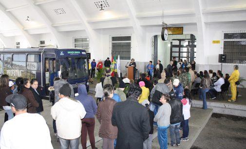 Projeto Eco Ônibus da Fatma chega a Porto União