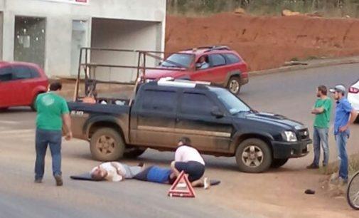Casal é atropelado por ônibus em Bituruna