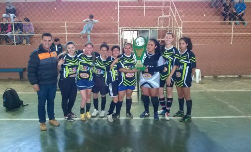 Bituruna realizou competições esportivas ao Dia do Trabalho