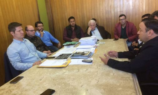 Hussein Bakri visita prefeito de UVA, Santin Roveda