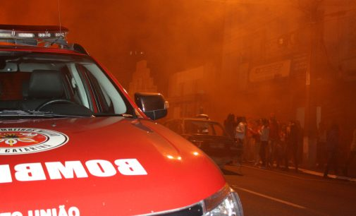 CEBREP faz simulação de incêndio em Porto União
