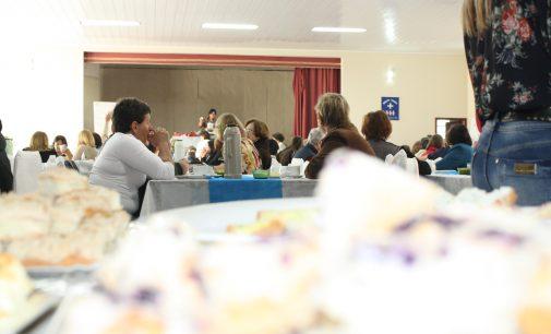 OASE reúne amigos no Chá da Cuca em Porto União