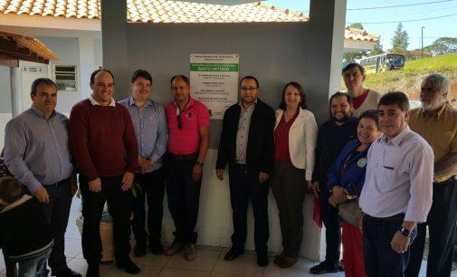 Inaugurado nova escola em Santo Antonio do Iratim, em Bituruna