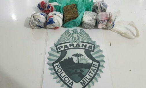 PM apreende 359,4 gramas de maconha no bairro Rocio