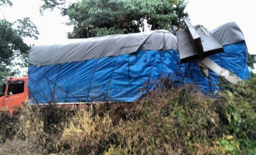 PM recupera caminhão furtado em Paulo Frontin